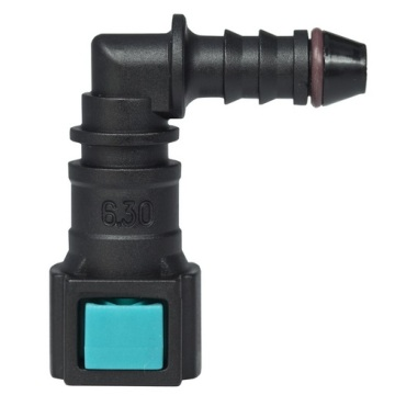 Conductive Quick Connector 6.30 (1/4) - ID6 - 90° SAE