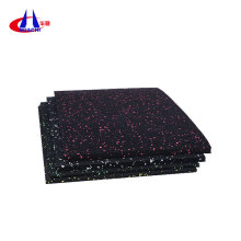 China Exporter for Gym Composite Rubber Mat 25mm thick bole gymnasium crossfit supply to Morocco Supplier