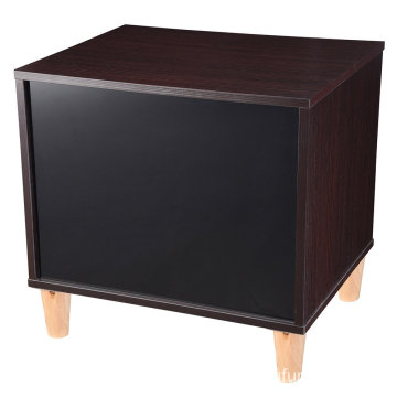 Wooden Bedroom Night Stand End Side Table with 2 Drawers Cabinet Storage Furniture Home Decoration