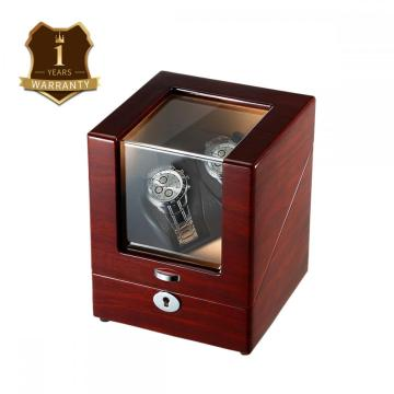 The Wood Veneer Sheet Single Rotor Watch Winder