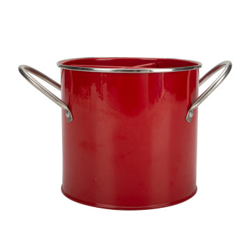 Vintage Red Utensil Holder