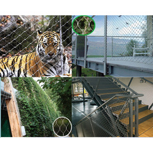 High quality factory for China Stainless Steel Safty Net,Stainless Steel Wire Safty Net,Stainless Steel Safty Mesh Supplier Stainless Steel Flexible Cable Rope Netting export to Japan Manufacturers