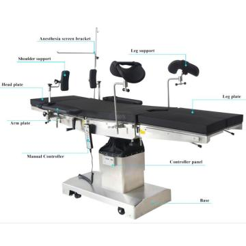 Electrohydraulic Operation Table Surgical Table
