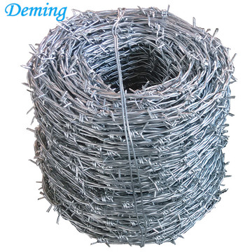 Hot products barbed wire philippines length per roll
