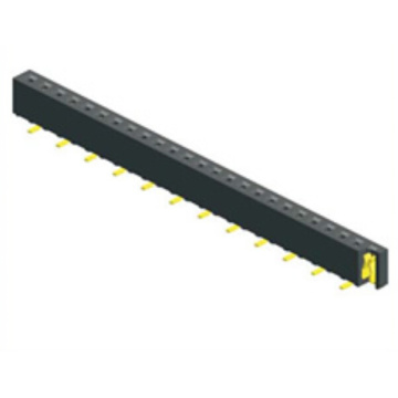 Leading for Pcb Connector 1.27mm Female Header Single Row SMT Type export to Greece Exporter
