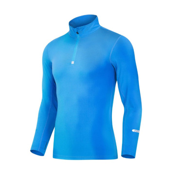Cotton Polyester Plain Mens Sweatshirt Without Hood