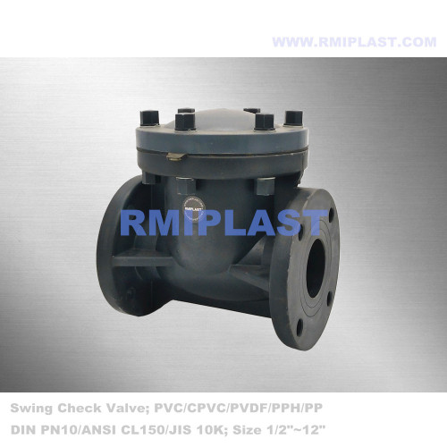 Non Return Valve UPVC ANSI CL150