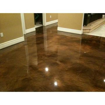 Walkway Metallic Epoxy flooring
