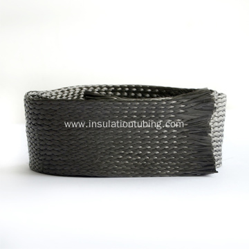 Wholesales Serviceable Carbon Fiber Braided Cable Sleeve