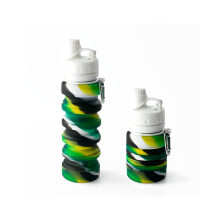 Outdoor Sports Silicone Collapsible Water  Drink Bottle