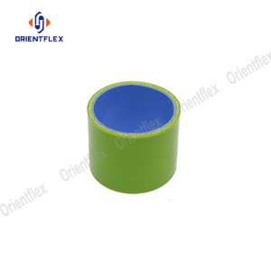 Fiber Reinforced 63mm straight silicone coupler hoses