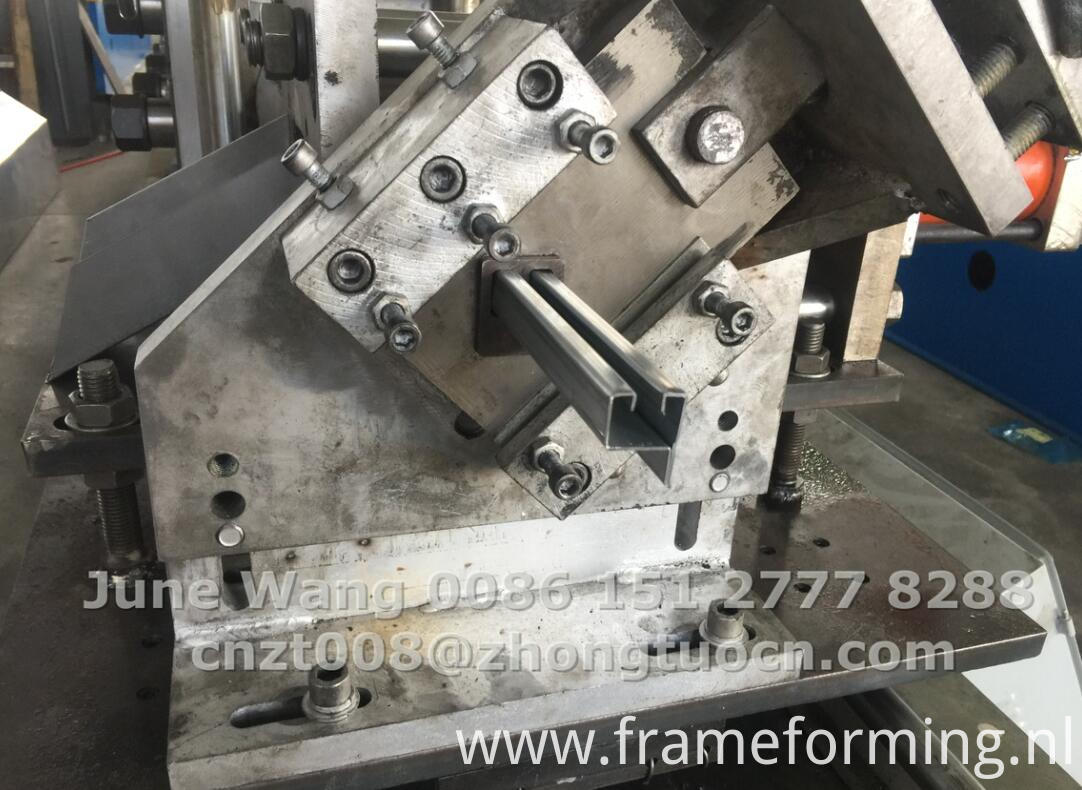 window frame making machine for Argentina 6-