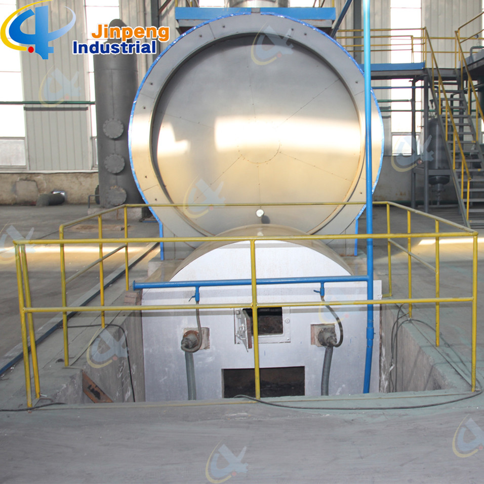 Professional Waste Engine Oil Refining Plant