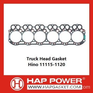 Cheap for Tractor Head Gasket Truck Head Gasket Hino 11115-1120 export to Monaco Importers