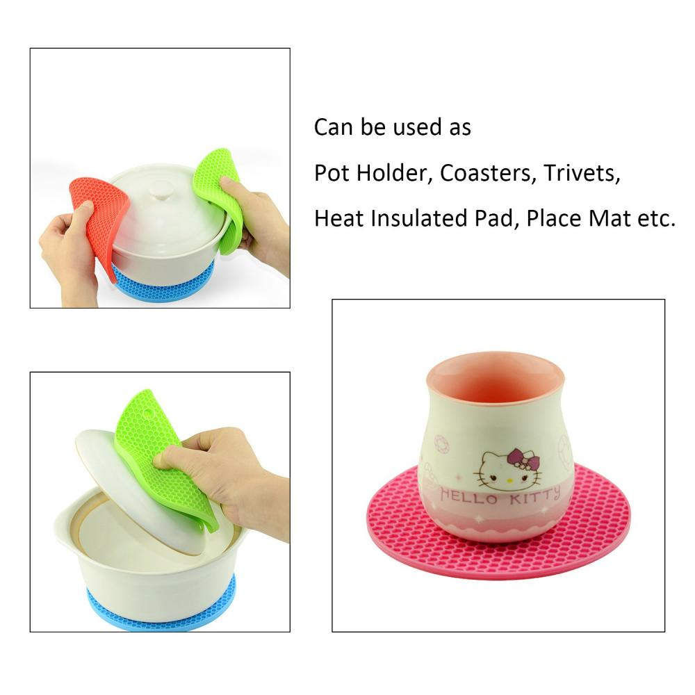 Multi-Purpose Silicone Pot Holders hot pads