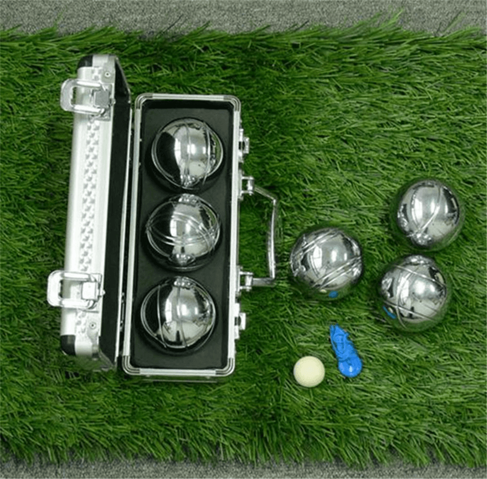 bocce ball alumium box