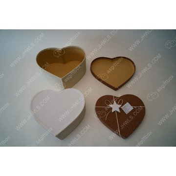 Handmade Hard Paper Heart-shaped ​ Gift Boxes