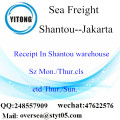 Shantou Port LCL Consolidation To Jakarta