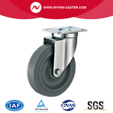 4'' Swivel Medium Industrial TPR Caster With PP Core