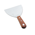 Heavy Duty Stainless Steel Wood Handle Pancake Spatula