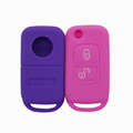 Smart silicone car key protective cover for Benz