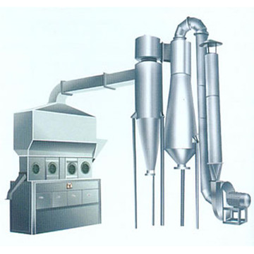 Horizontal Fluid Bed Dryer