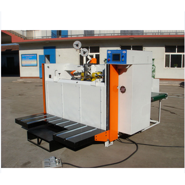 Bottom price for Staker Semi-Automatic Carton Stapling Machine export to Poland Factory