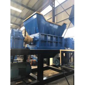 olive Color Steel Tile Crusher crushing machine