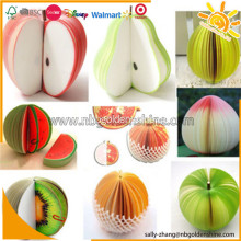 3D Fruit Shape Post-it Note Pad
