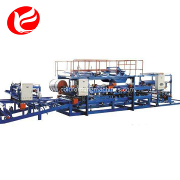 Roof eps sandwich panel forming machine production line