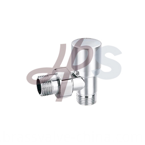 Brass Radiator Valves Chrome Plated Hvr05