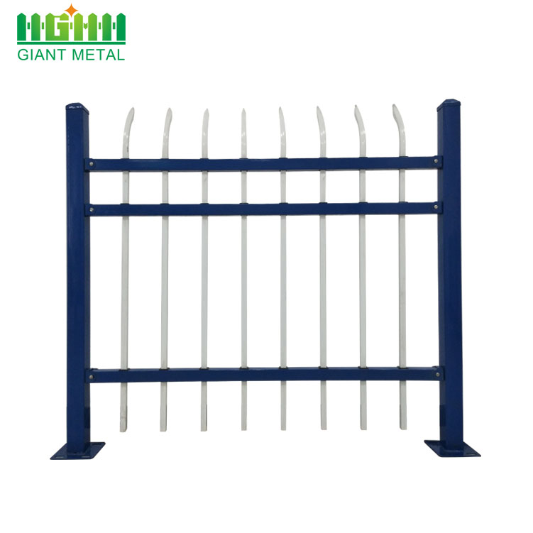 Hot Sale Wrought Iron Fencing, Zinc Steel Fence