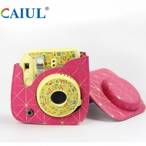 Wholesale Dealers of for Polaroid Cake Pattern Camera Bag Rose Gold Polaroid Camera Bag export to Spain Importers