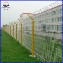 Manufacturer of for Airport Security Fence y post triangle bending welded airport fence for slammer export to Dominican Republic Manufacturers