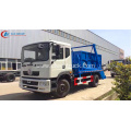 Economical Dongfeng D90 12tons garbage truck with arm