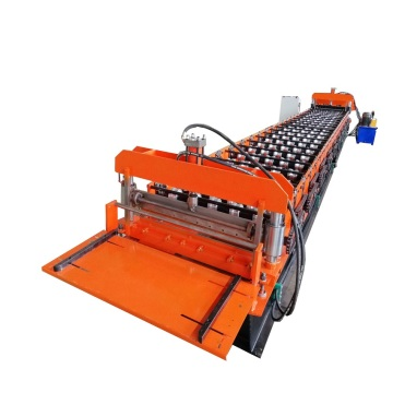 Galvanized steel sheet glazed tile machine