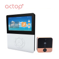 4.5 inch Wireless Smart Wifi Door Camera