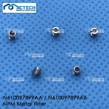 factory customized for SMT Nozzle Filter Metal filter for Panasonic NPM machine export to Estonia Factory