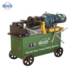Steel thread rolling machine for construction