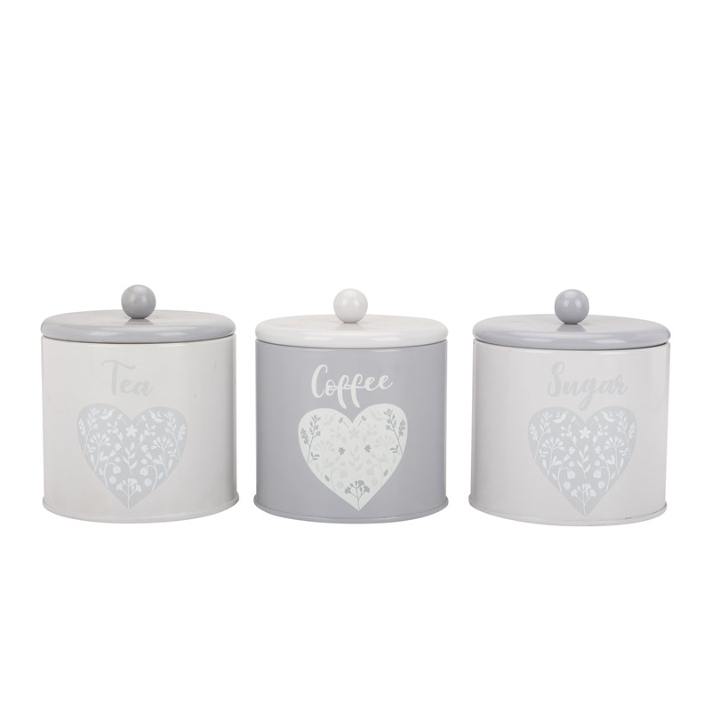 Coffee Tea Sugar Canister