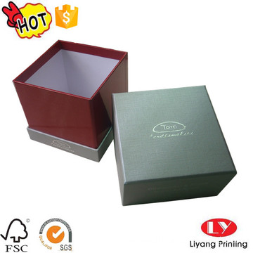 Cardboard candle packaging gift box with lid