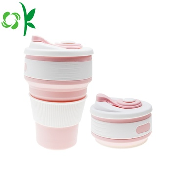 Silicone Foldable Travel Drinking Cup Retractable