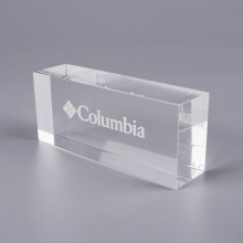 Custom Solid Clear Acrylic Display Blocks
