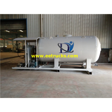 2500 Gallons 5ton Mobile Skid Propane Plants