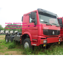 Sino truck 10 wheel tractor head 371hp