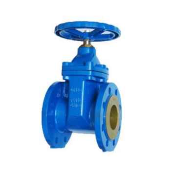 DIN resilient seated gate valve