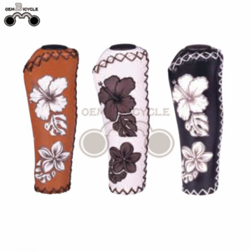 2017 new design bike accessories grips flower ergonomic grips