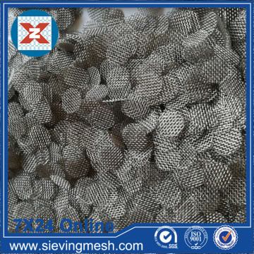 Wire Mesh Stainless Steel Filter Disc