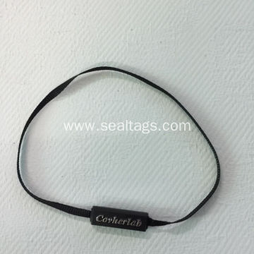 Customized Black Small Bullet Shape Seal Tag