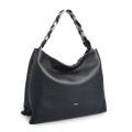 New Design Handle Weave Leather Lady Hobo Bag
